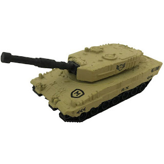 Diecast Alloy Model Military Tank Brown