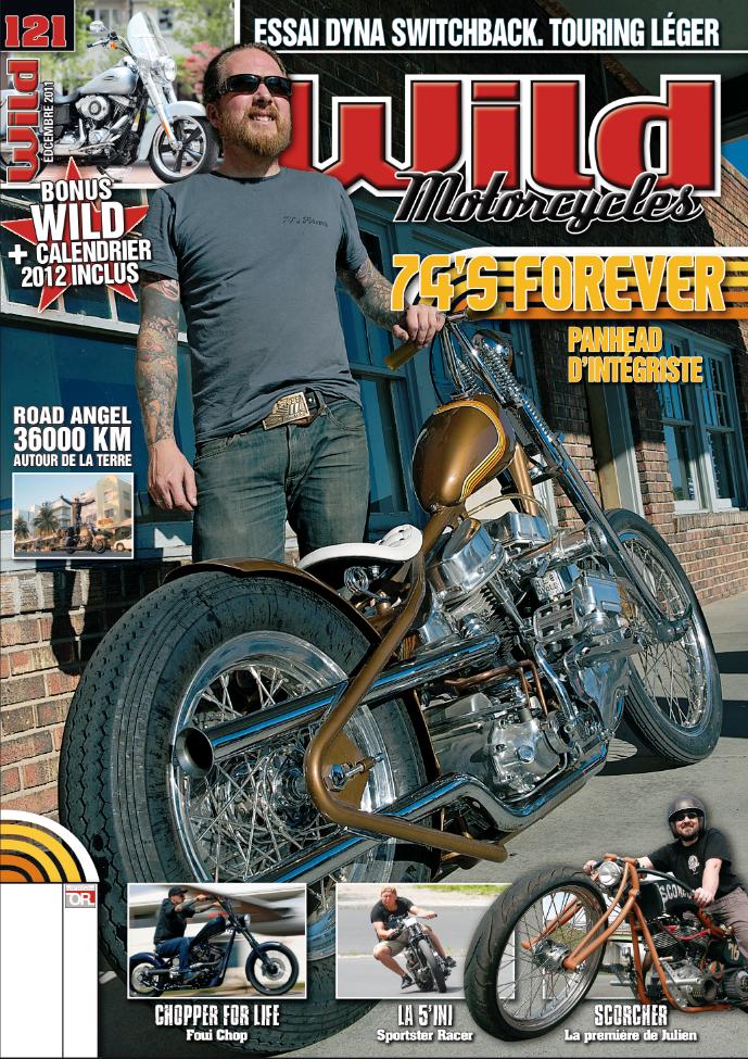 74 S Forever Lucas Creamer Cover Shot Of Wild Motorcycles