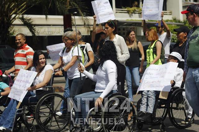 Comunidad de discapacitados en Venezuela exige respeto e inclusión