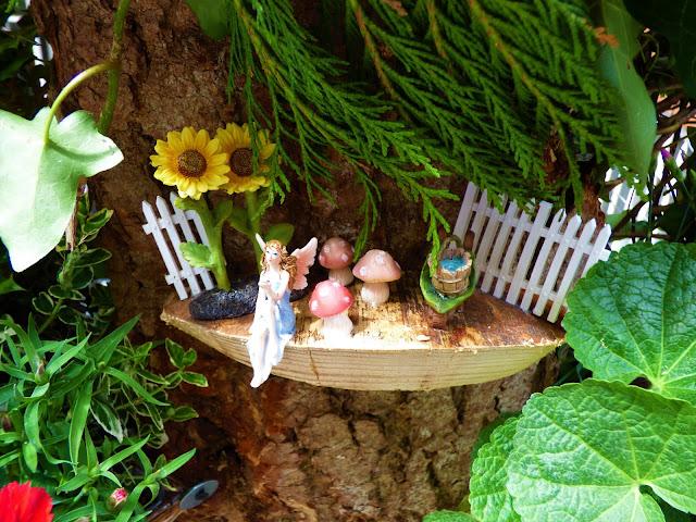 Fairy garden in London, for Chelsea in Bloom 2018 free flower festival
