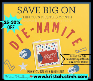 Die-Namite SALE on our Thin Cuts!