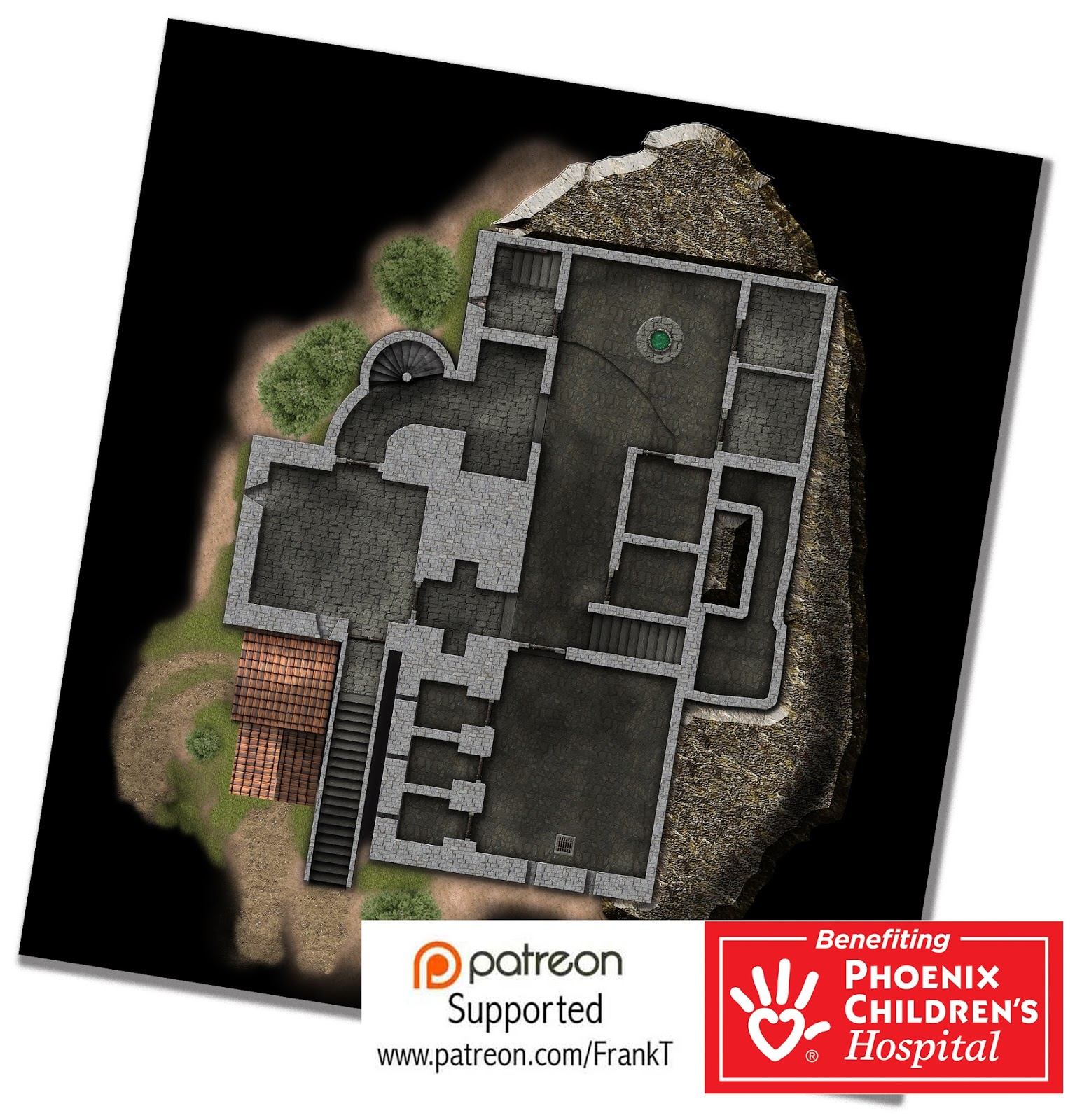 Building The Middle Kingdoms Free Map Monday Bran Keep