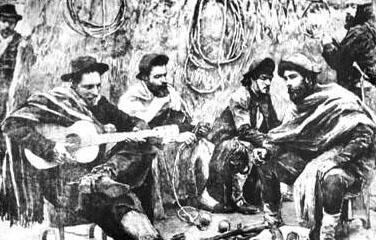 Resultado de imagen para antiguos payadores camperos argentinos