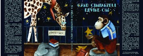 """""""Când cimpanzeul devine om"""", romanul meu fantasy, în curând în librării"""