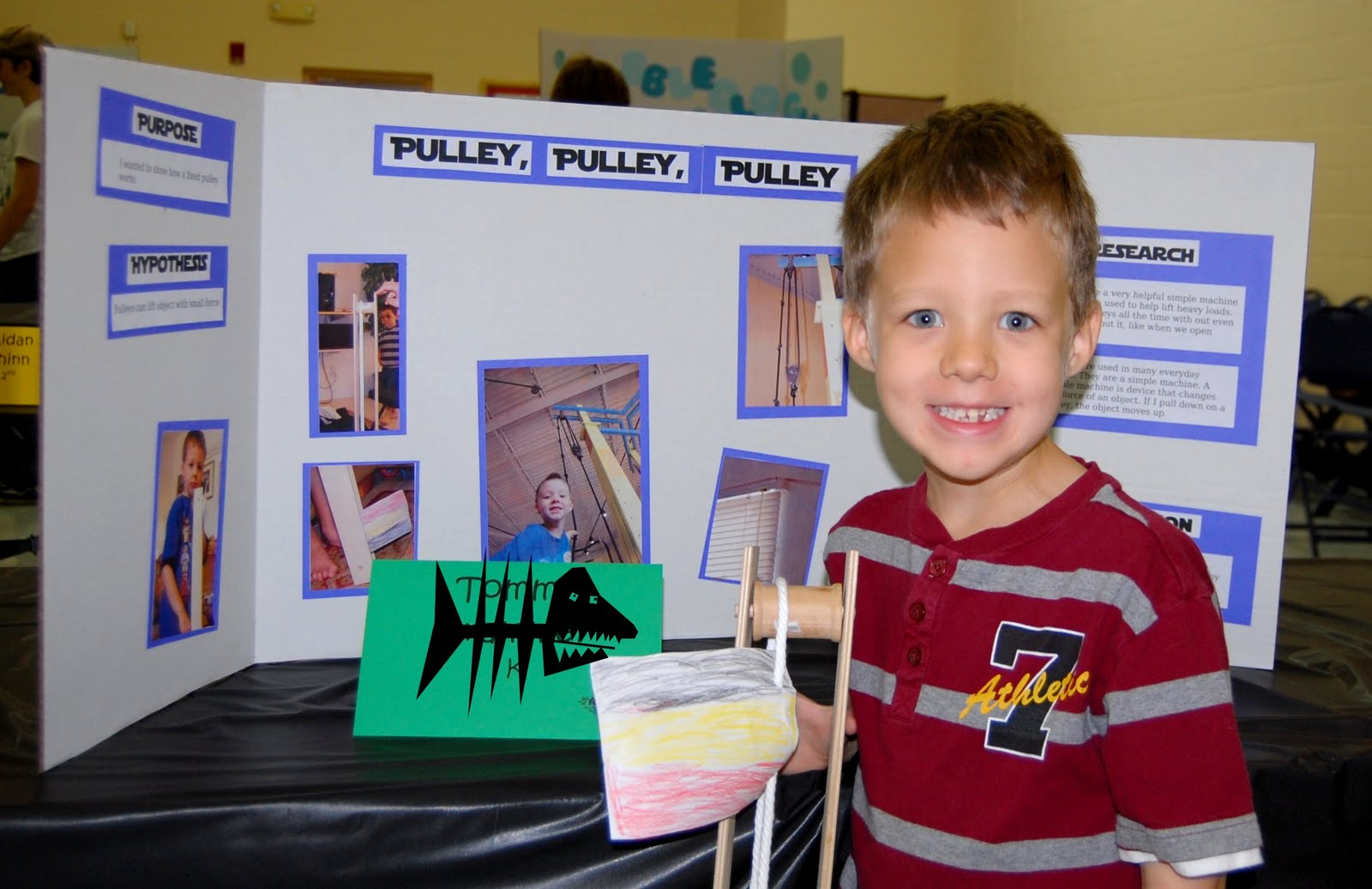 The Dog's a boy, too!: Science Fair Winners