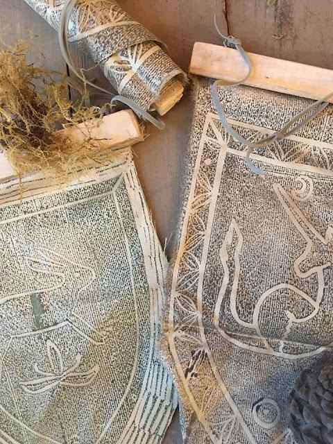 The Craft Of Raven: Ζωή Louper Ευσταθίου 7 Annie Sloan Greece