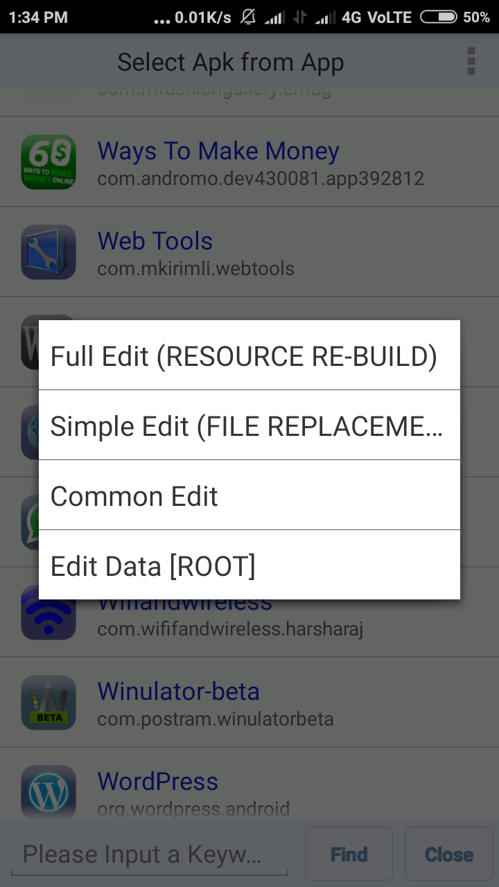 Edit any Android App in Android [Without Root]
