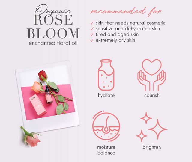 B.liv Organic Rose Bloom Enchanted Floral Oil