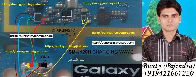 Samsung    J1 SMJ120H Charging Ways Charging Solution Usb Jumper  IMET  Mobile Repairing Course