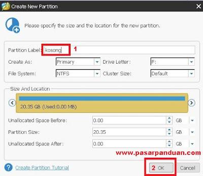 Cara Ampuh Menambah Kapasitas Drive C dari Partisi Logical Windows 7/8/10 Tanpa Harus Instal Ulang
