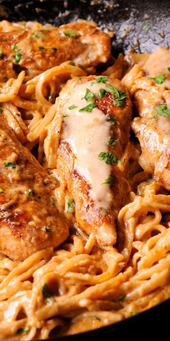 SPICY CHICKEN LAZONE PASTA #spicy #chicken #chickenrecipes #lazone #pasta #pastarecipes