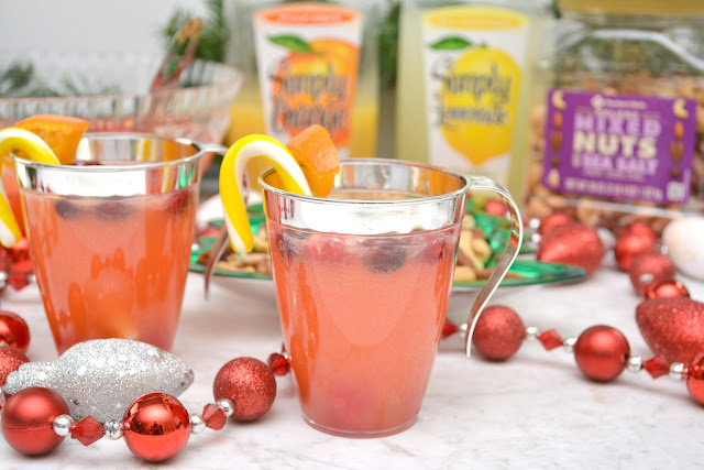 fruity holiday cocktail