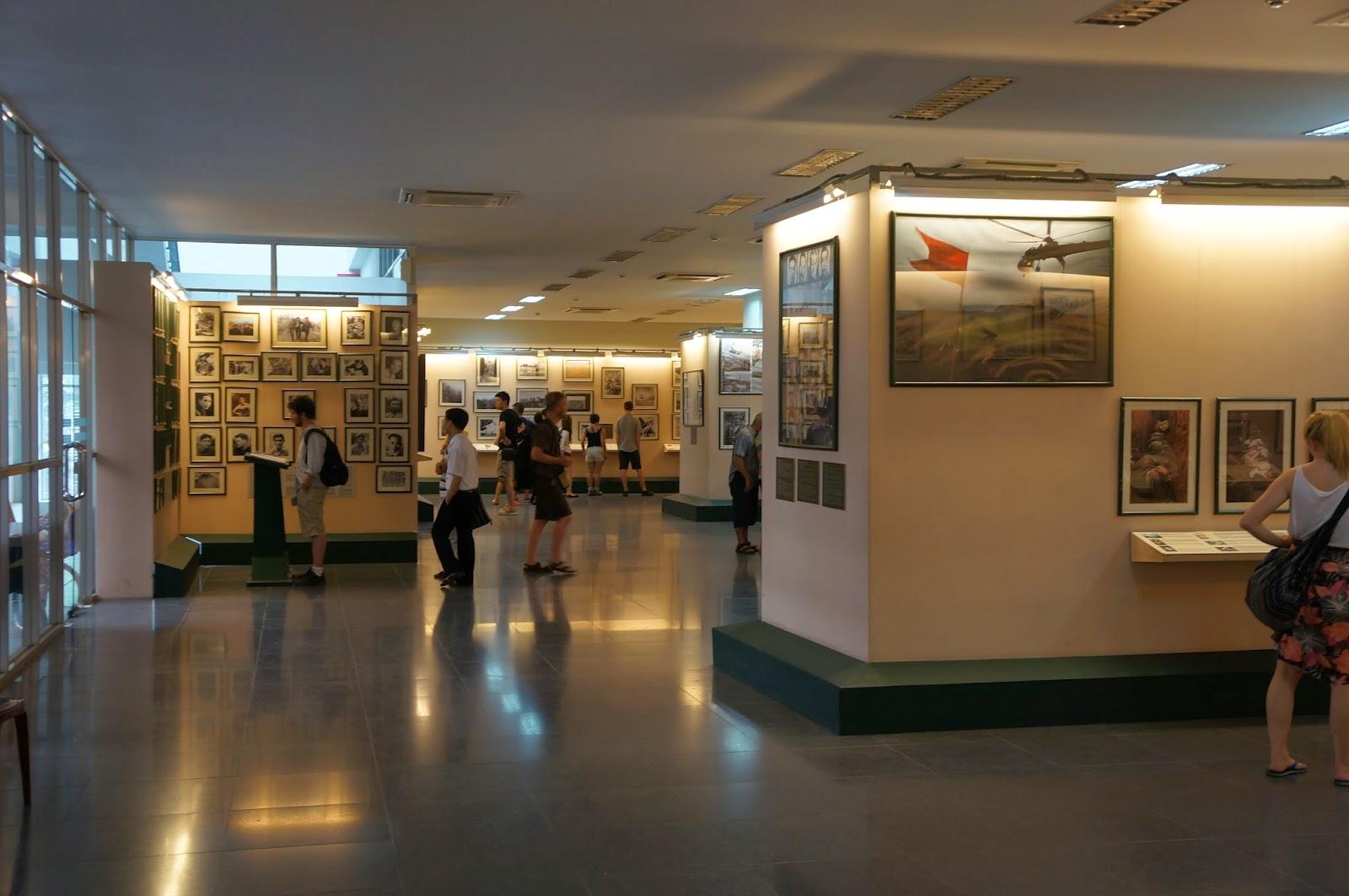 Interior of War Remnants Museum, Ho Chi Minh City