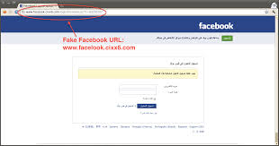 Page de phishing facebook