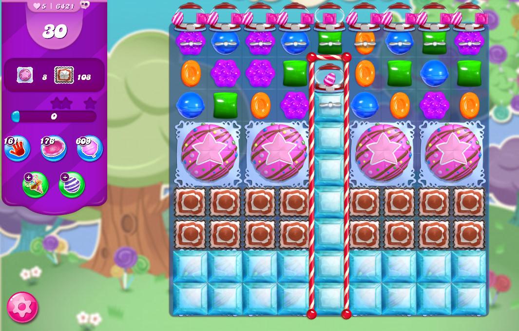 Candy Crush Saga level 6421