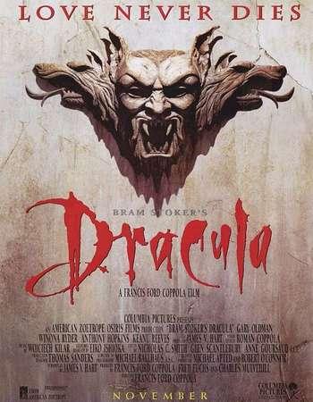 Poster Of Dracula 1992 Dual Audio 720p BRRip [Hindi - English] Free Download Watch Online Worldfree4u