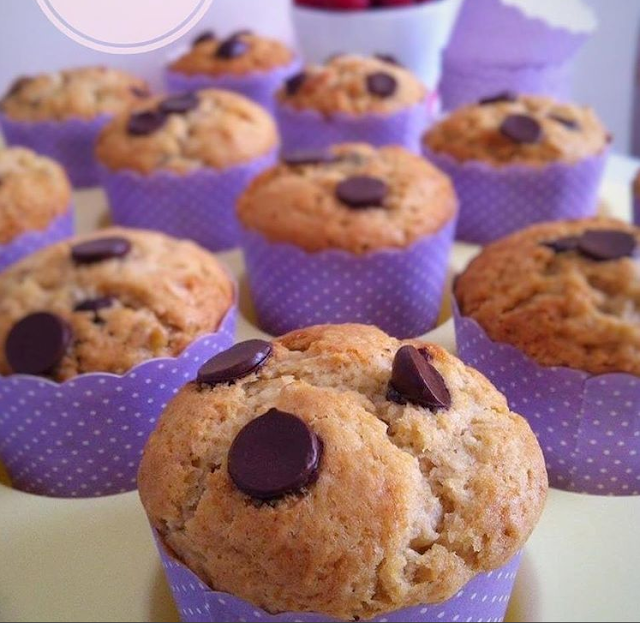 Resep Muffin Pisang Chocolate Chip Anti Gagal