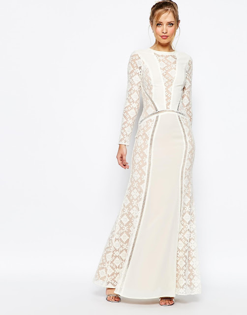 jarlo long sleeve wedding dress, jarlo white maxi dress long sleeve, long sleeve insert wedding dress,