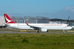 A321NEO for Cathay Dragon