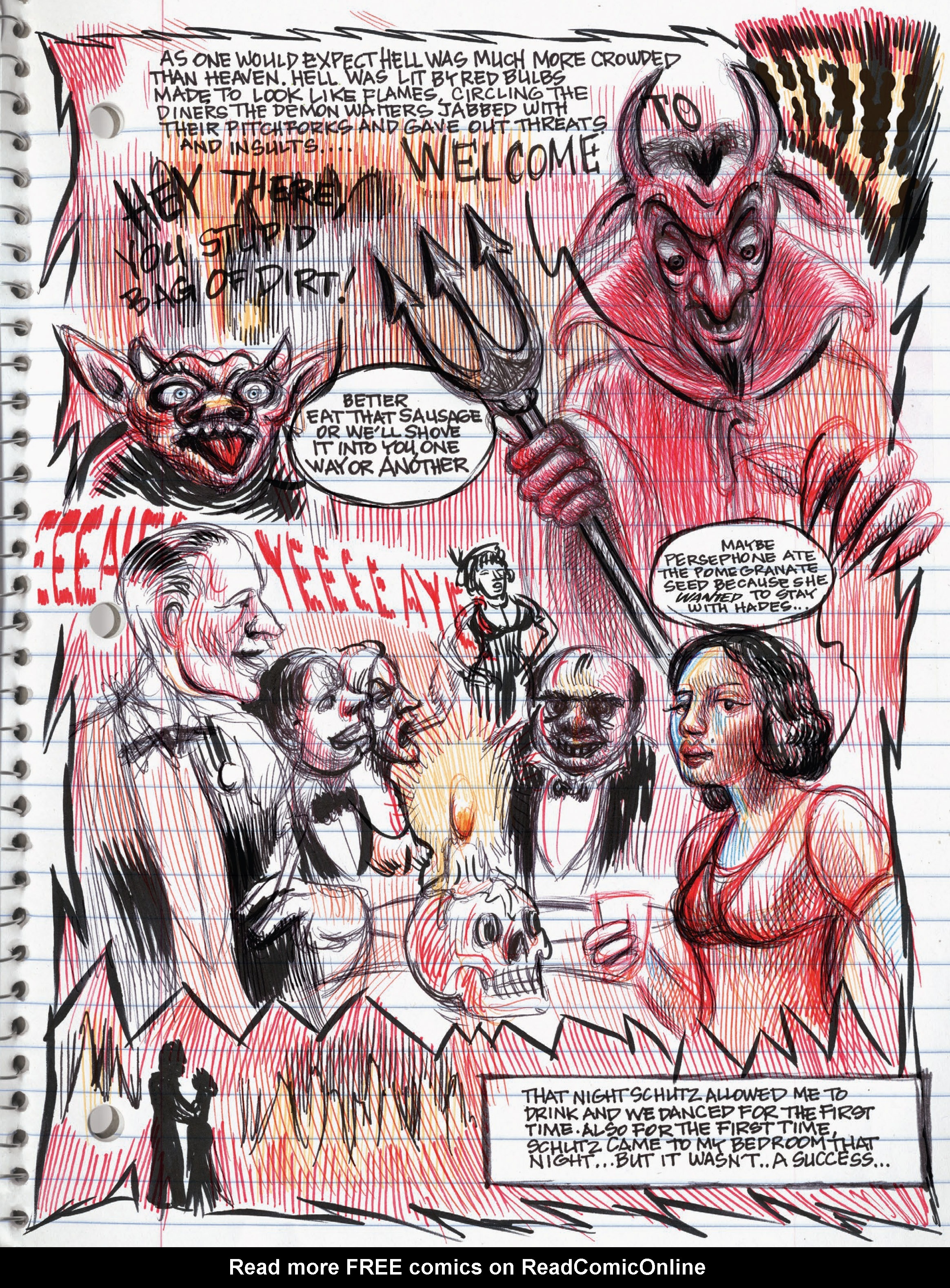 Read online My Favorite Thing is Monsters comic -  Issue #1.5 - 6