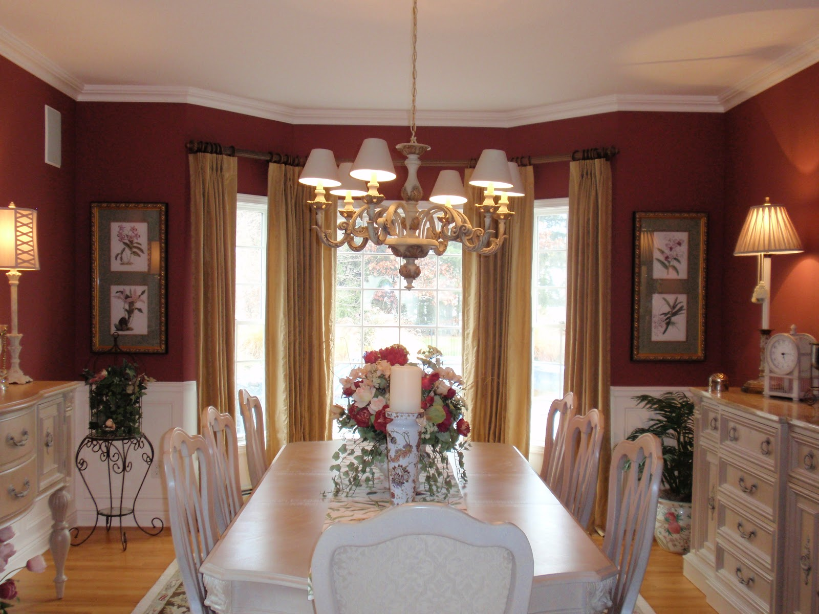 Red And White Dining Room Diy By Design Dining Rooms Roomspiration Continues