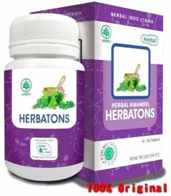 Herbatons, Obat Herbal Amandel