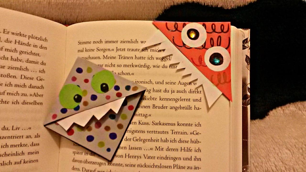 Meine Bücherwelt: [Bastelanleitung] Büchermonster