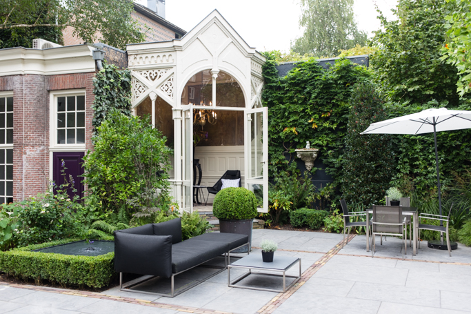 Canal House Outside Terrace, Amsterdam