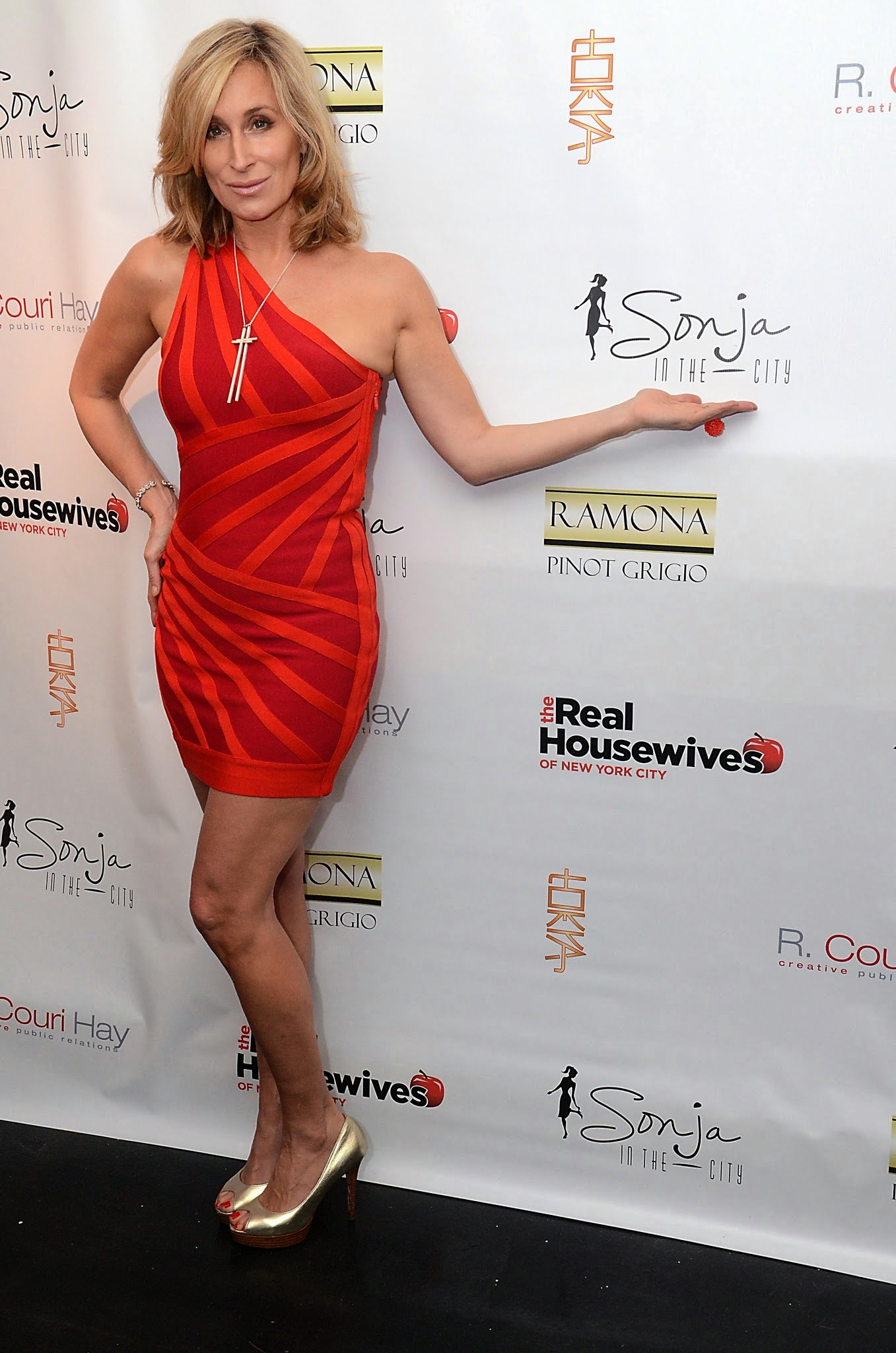 b9cf440855bf Sonja Morgan and Ramona Singer Host The Real Housewives of New York City  Season 6 Premiere Party. Photo Credit: Andrew Werner ...
