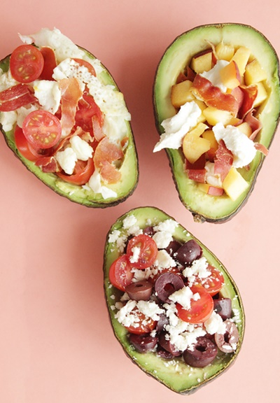 3-Ingredient Avocado Boats