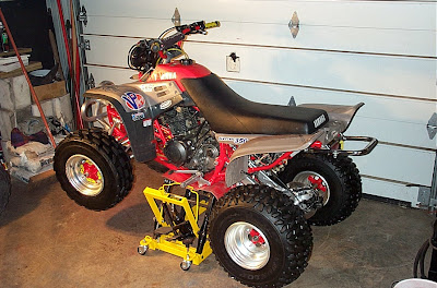 Yamaha Warrior on Yamaha Warrior 350 Transmission