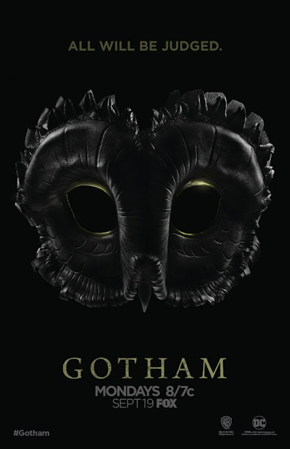 San Diego Comic-Con 2016 Exclusive Gotham Season 3 Court of Owls Teaser Television Poster