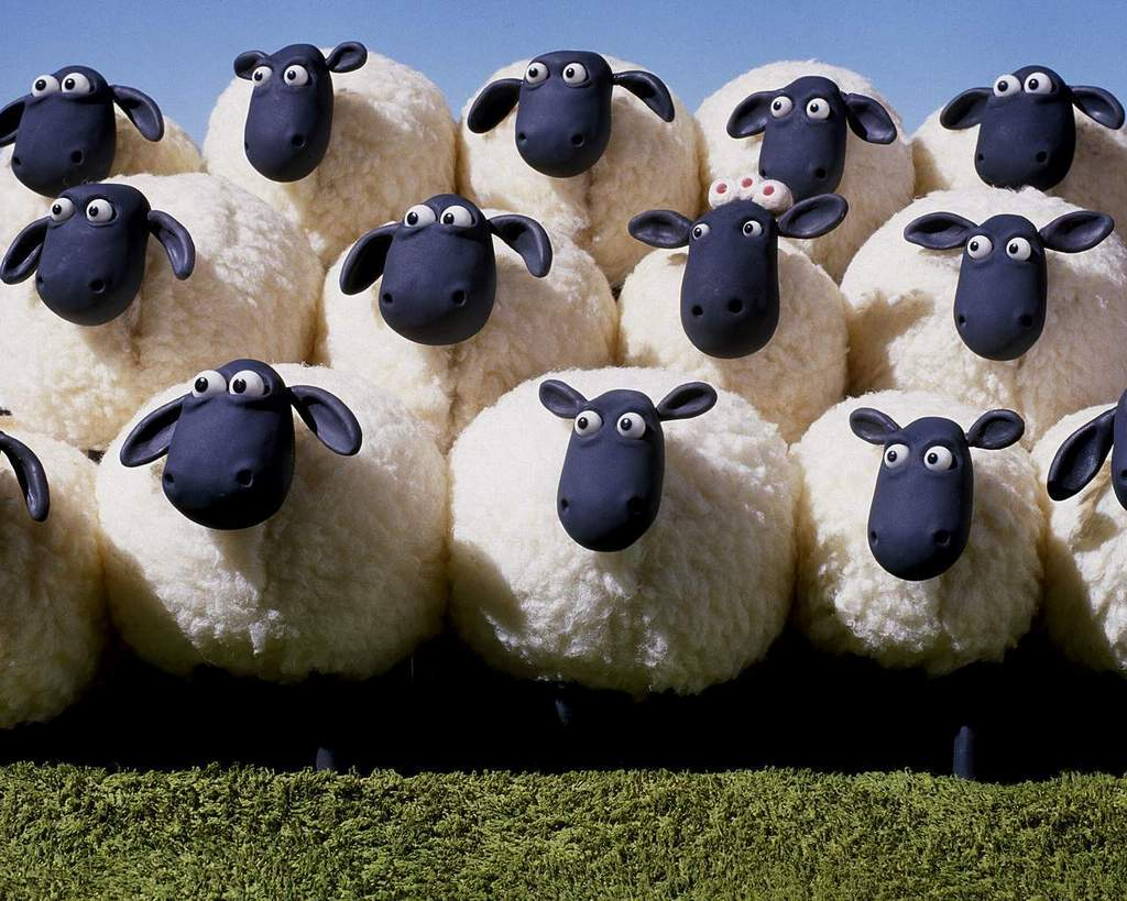 Wallpaper Shaun The Sheep December 2011