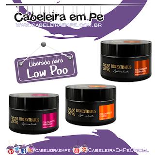 Máscaras Colorantes - Marsala, Cobre e Castanho - Bio Extratus (Low Poo)
