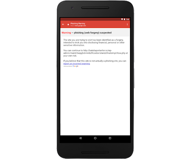Gmail防止钓鱼机制警示