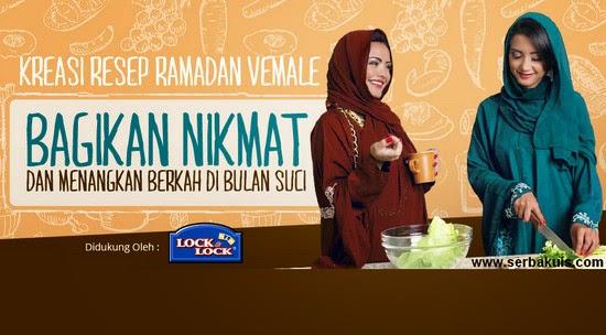 Kontes Resep Ramadhan Berhadiah 10 Produk Lock&Lock