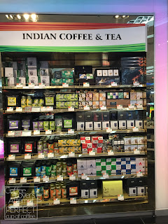 Duty Free selling Indian Coffee & Tea