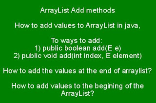 arraylist-add