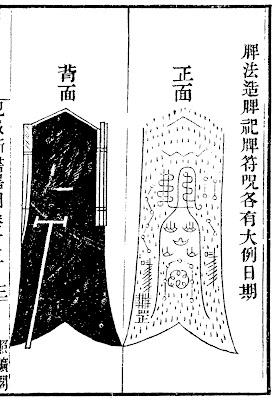 Ming Chinese pavise