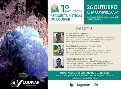 Ilha sedia na quinta 26/10 o I Encontro de Regiões Turísticas do Codivar
