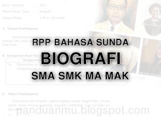 Rpp Biografi Sma Smk Ma Mak Contoh Soal Media Kurikulum Dan