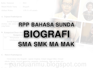 RPP BIOGRAFI SMA SMK MA MAK