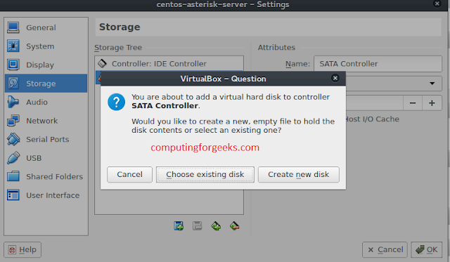 How to Add Extra Hard Disk to VirtualBox VM and set