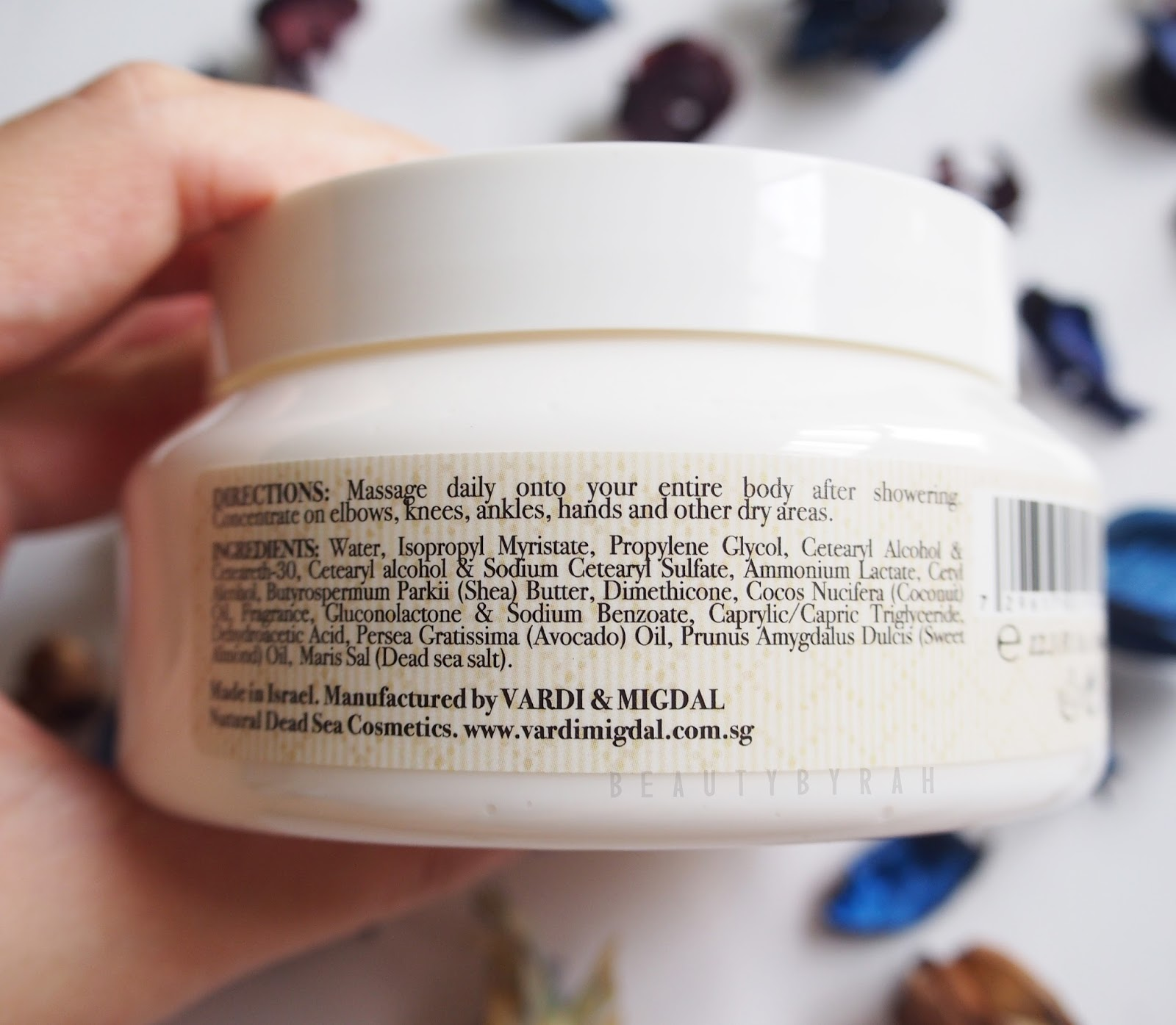 Vardi & Midgal Body Care Body Butter Review