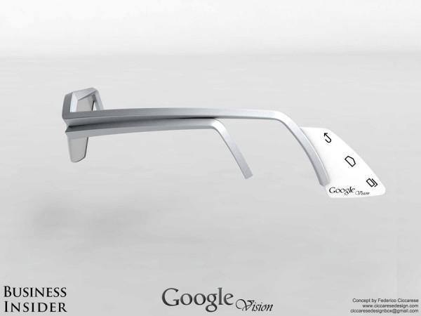Google Vision Glasses Concept