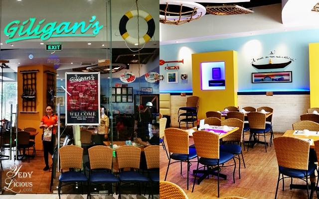 Giligans SM Center Angono, Restaurants in SM Center Angono Rizal, SM Angono Food Crawl, List of Restaurants in Angono Rizal, Angono Rizal Food Trip, Best Restaurants in Angono Rizal, Where To Eat in Angono Rizal, Blog Review YedyLicious Manila Food Blog