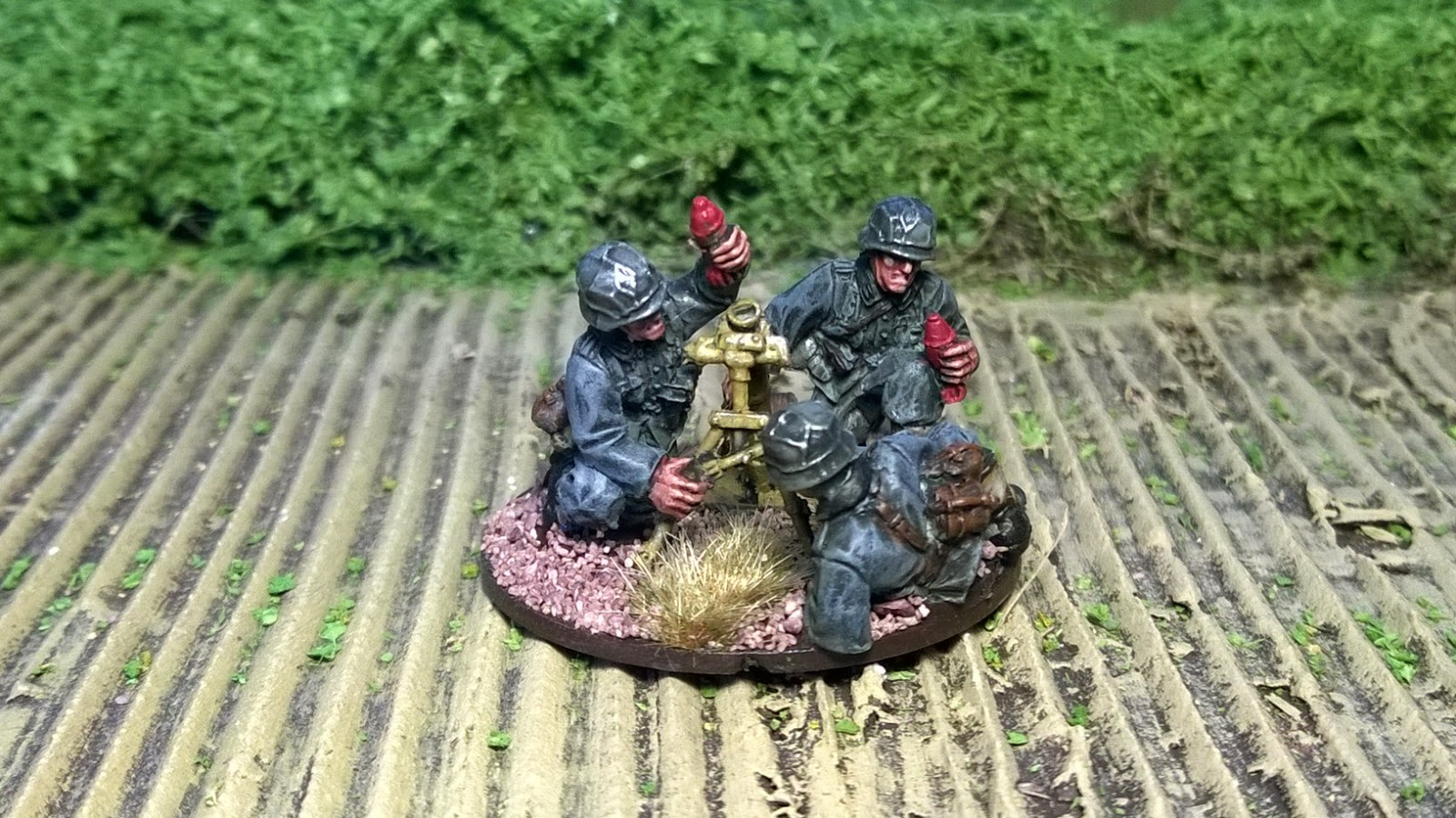 warlord games medium german mortar crew