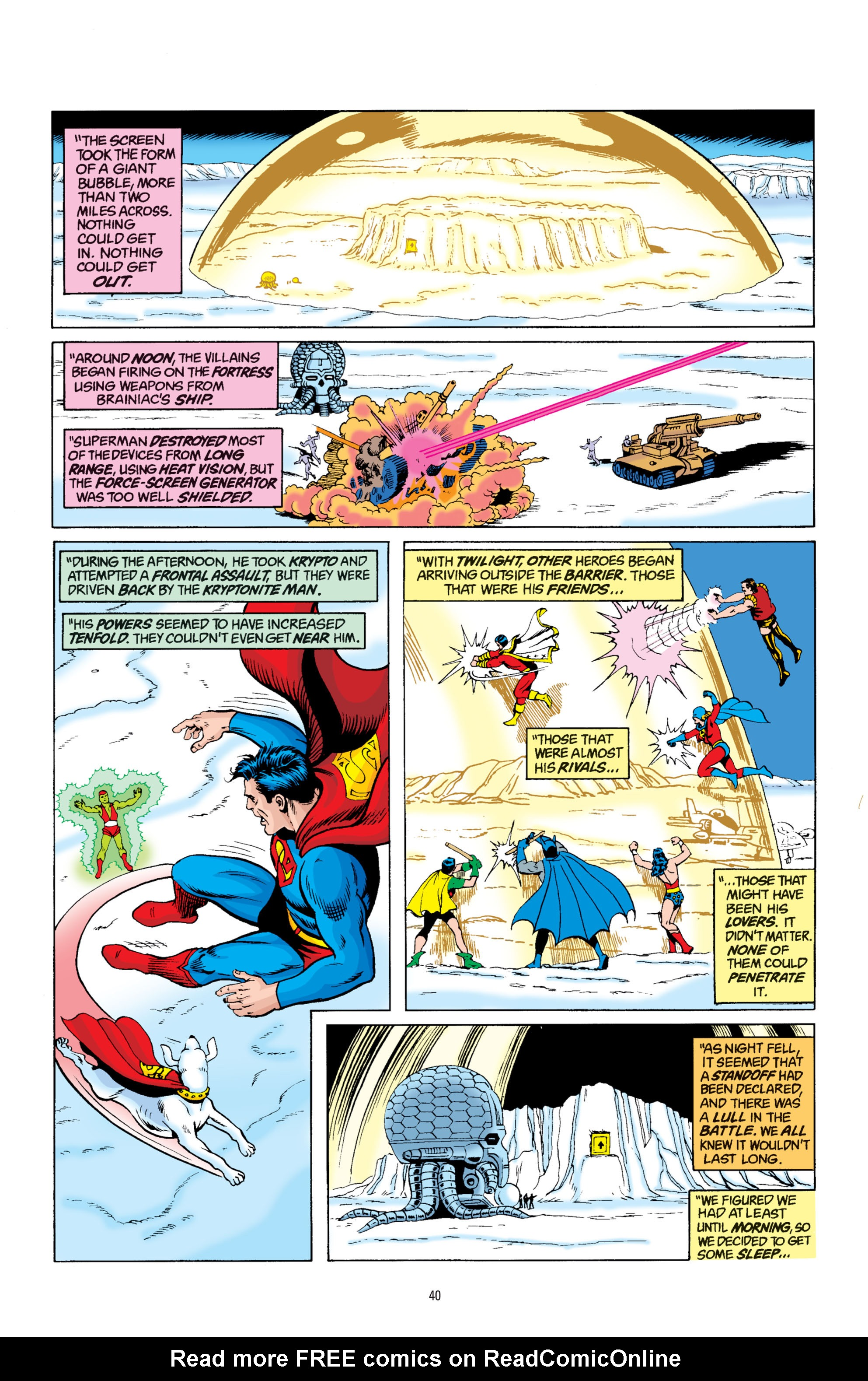Read online Superman: Whatever Happened to the Man of Tomorrow? comic -  Issue # TPB - 39