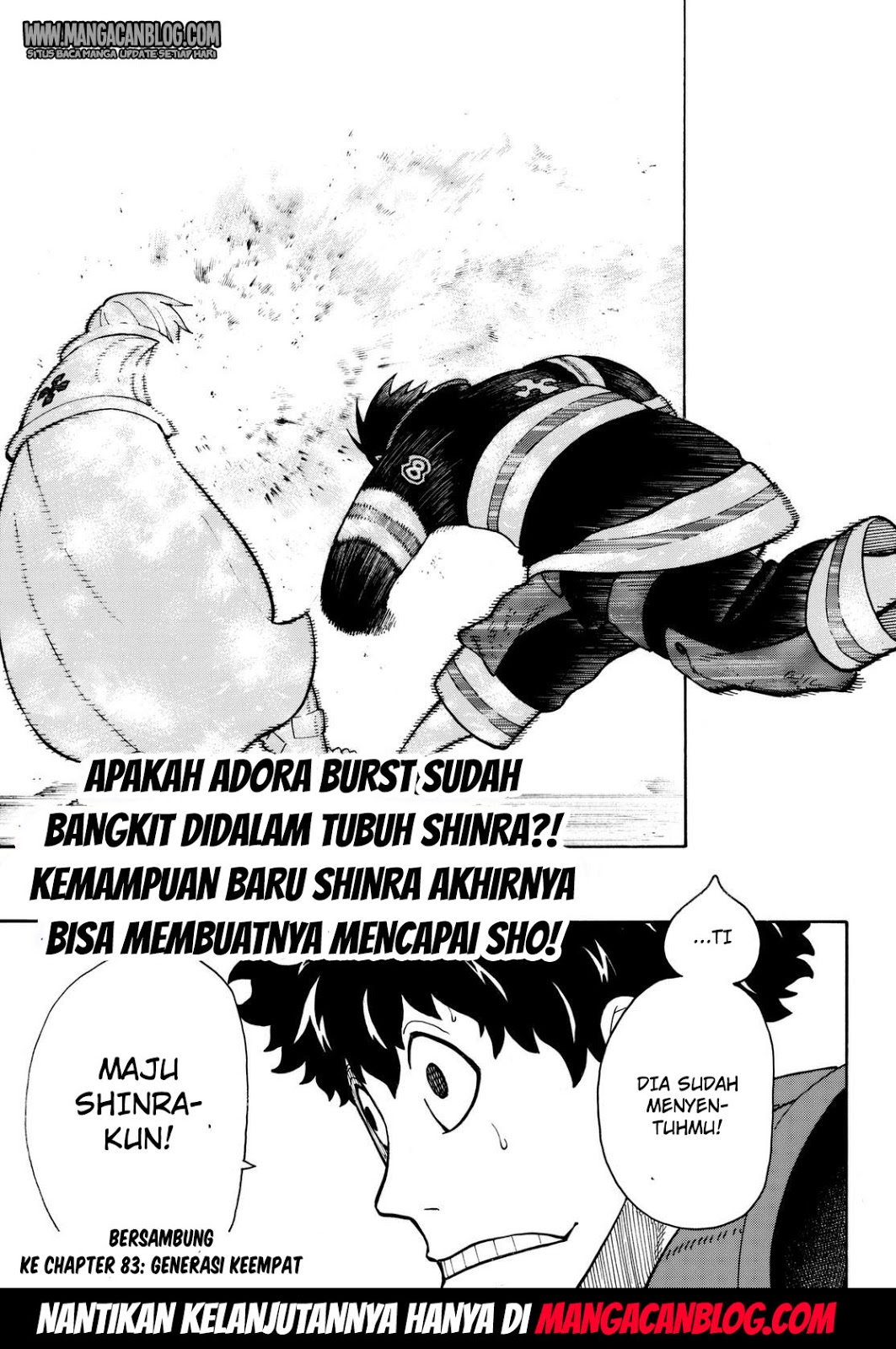 Fire Brigade of Flames Chapter 82-18
