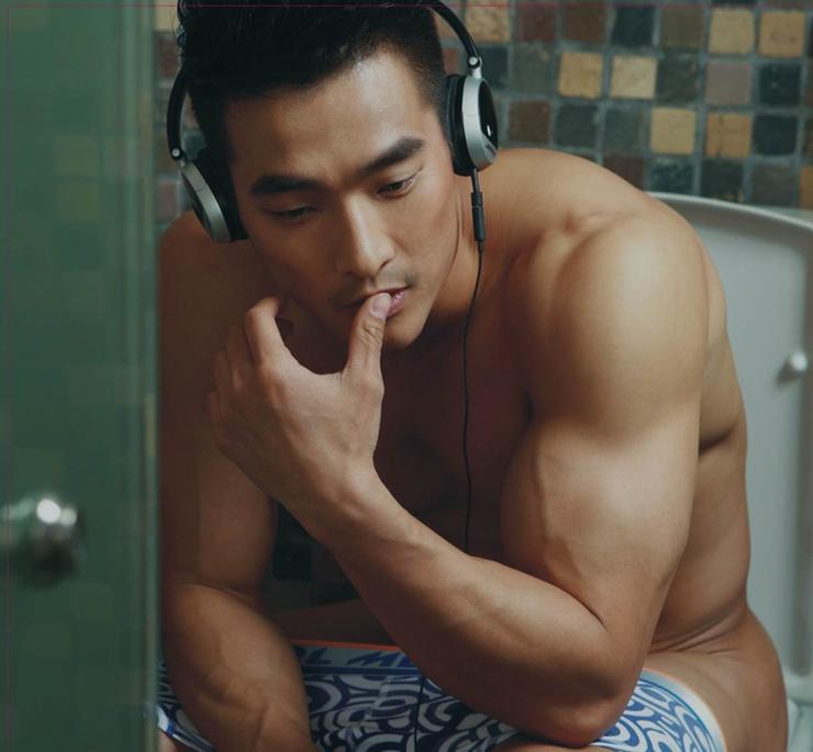 male naked korean